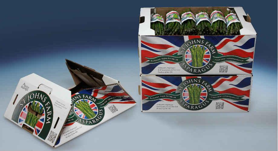 Asparagus Box - UK Packaging Award Winner