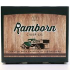 Sustainable Packaging for Ramborn Apple Cider