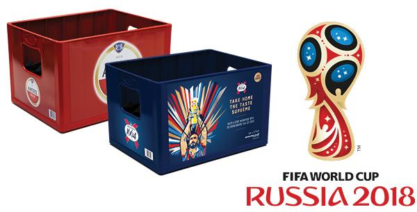 Amstel and Kronenbourg Choose DS Smith's Box2Keep™ Beer Crates for World Cup Promotion