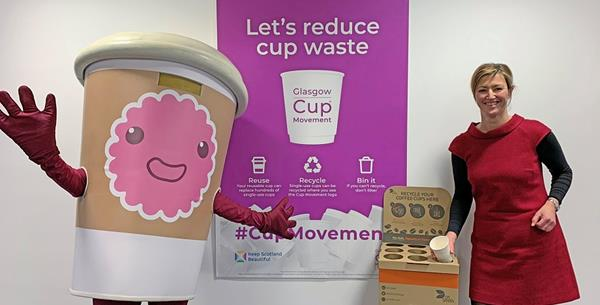 DS Smith partners with Keep Scotland Beautiful in a bid to recycle millions of coffee cups