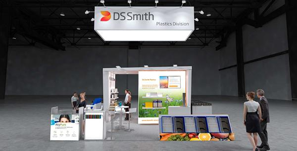 DS Smith Plastics Features AkyPak Advanced Returnable Bulk Container at Empack Madrid 2019, 13-14 November Stand 5C27