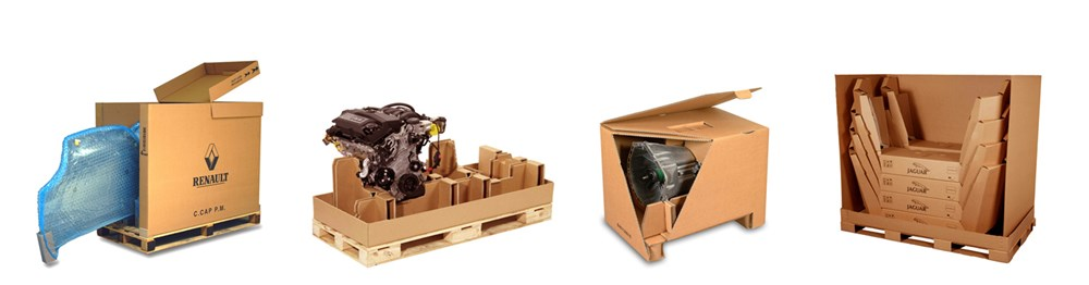 industrial packaging for standard automotive range