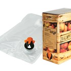 New Rapak Bag-in-Box Film and Tap Keep Fruit Juice Safe and Appetizing