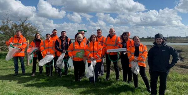 DS Smith joins Swale Borough Council to support Keep Britain Tidy's Spring Clean campaign