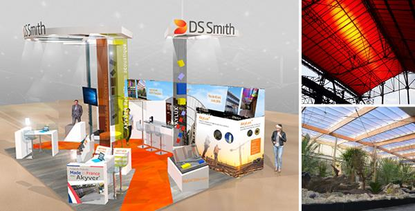 DS Smith Plastics, Extruded Products Will Be Featuring Their Innovative Polycarbonate Energy Efficient & Extruded Polypropylene Solutions at Batimat 2019 Located in Paris, France from 4-8 November