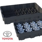 DS Smith Plastics Designs Returnable Trays with Dunnages for Toyota Automotive Parts