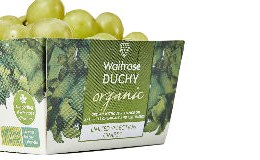 DS Smith helps Waitrose & Partners launch UK's first cardboard grape punnets