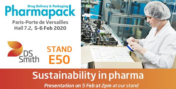 DS Smith Pharma at Pharmapack 2020
