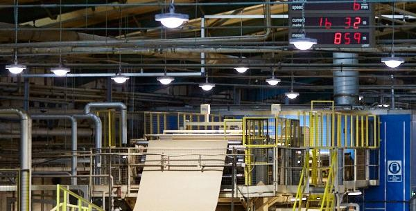 DS Smith saves 65% on lighting energy across Europe