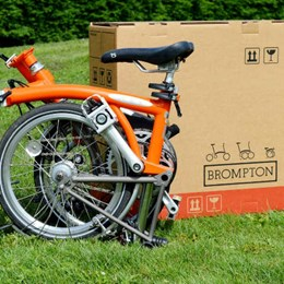 DS Smith innovation keeps Brompton ahead of the pack