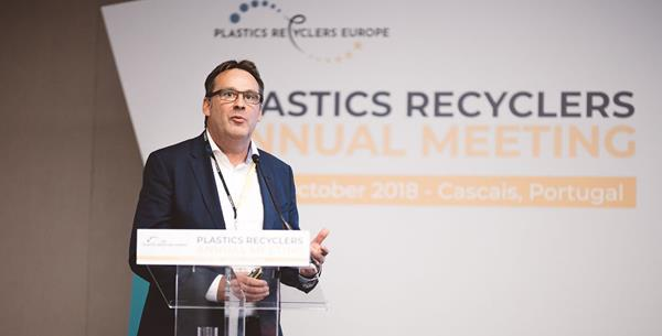 Managing Director of the DS Smith Plastics' Injection Moulded Products Was a Guest Speaker at the Plastics Recyclers Annual Meeting 2018