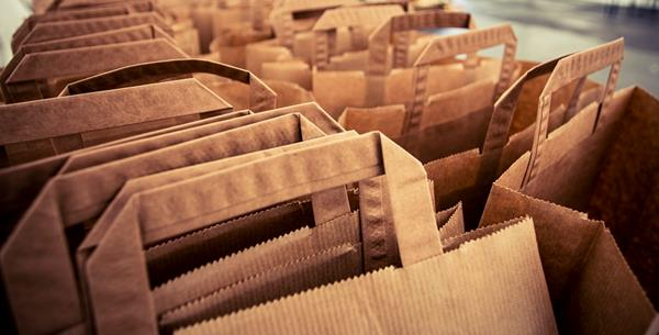 Sales of paper for shopping bags increases 400% in three years