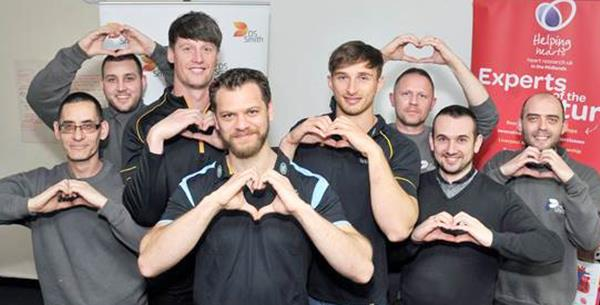 DS Smith and Wasps Rugby tackle heart health