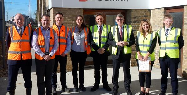"Lord Mandelson visits Kemsley Mill's ""fully circular business model"""
