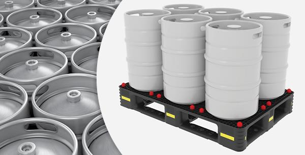 DS Smith Plastics Introduces a Versatile Keg Pallet that fits Different Sizes & Formats of Kegs to Improve Supply Chain Efficiencies for Breweries