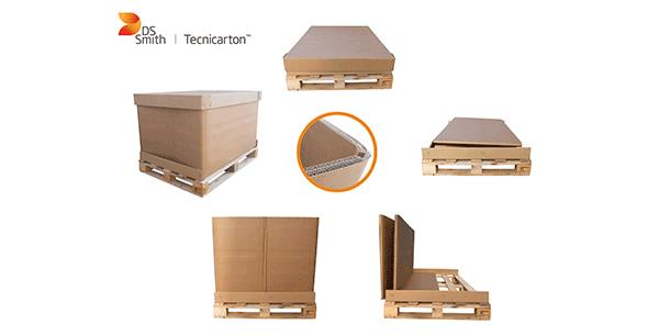DS Smith Tecnicarton designs a more resistant folding carboard packaging