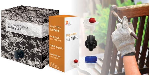 Bag-in-Box Packaging Enters Paint & Coatings Market to Reduce Waste and CO2 Emissions