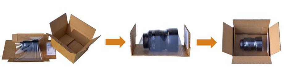 emballage de calage et de protection membranes ds smith packaging. Black Bedroom Furniture Sets. Home Design Ideas