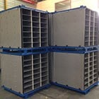 Cost Effective Textile Dividers/Inserts for Steel Containers