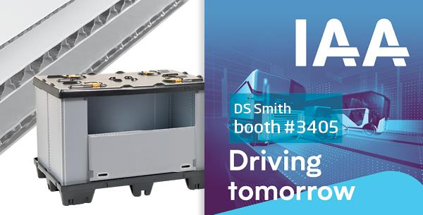DS Smith Plastics Exhibits Reusable Polypropylene Packaging solutions at the Annual IAA Automotive Show in Hannover-Germany, from the 20-27 of September at booth #3405