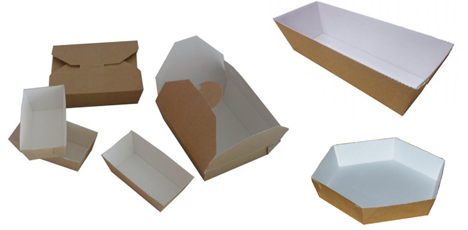 Food contact packaging and corruagted food trays