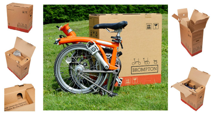 Starpack Award Winner Brompton Bicycle Box